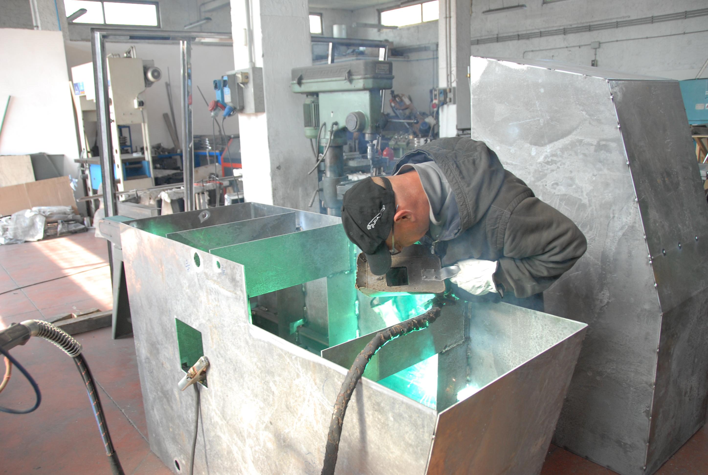 serbatoio nautico in alluminio
