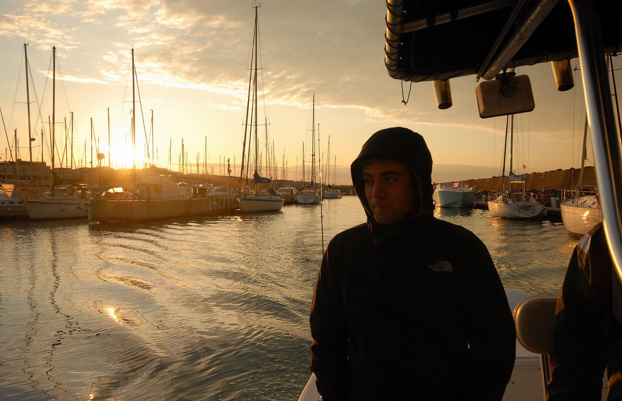 spinning dalla barca