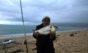 Dario Limone con una bellissima orata catturata a surf casting